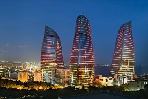 Bakü Flame Towers